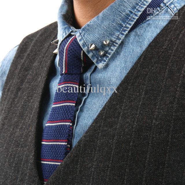 knitted ties striped ties menu0027s neck tie wool ties slim ties skinny tie senuowl