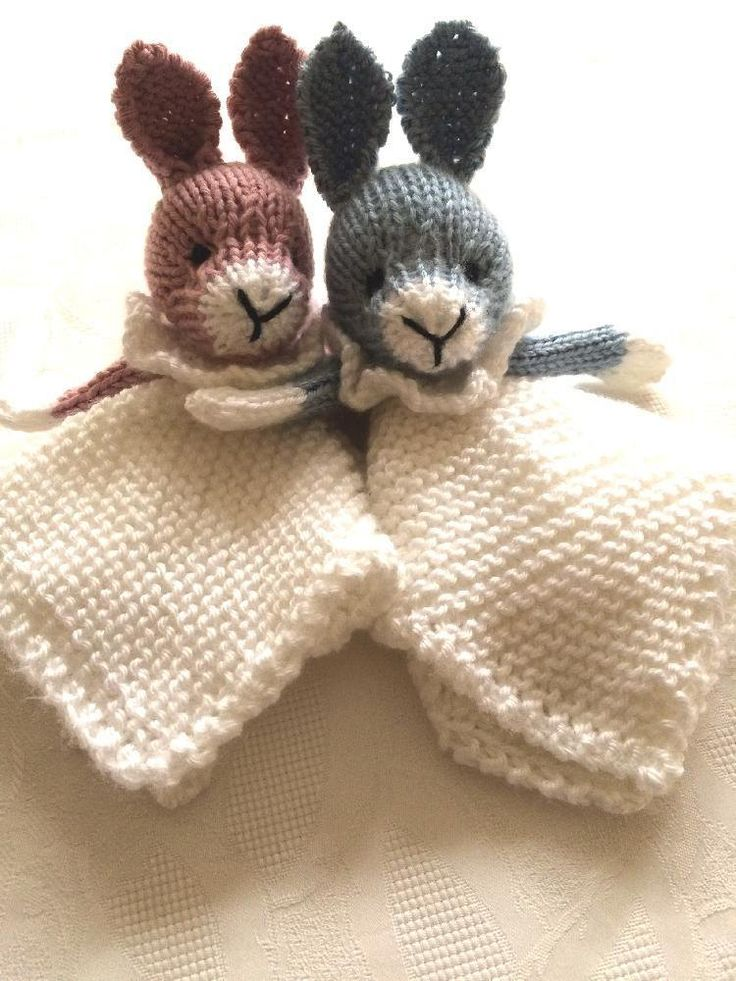 knitted toys bunny mini cuddly baby blankie - download the knitting pattern on  loveknitting! upxhcew