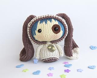 knitted toys dog tanoshidoll ... ymlqmlt