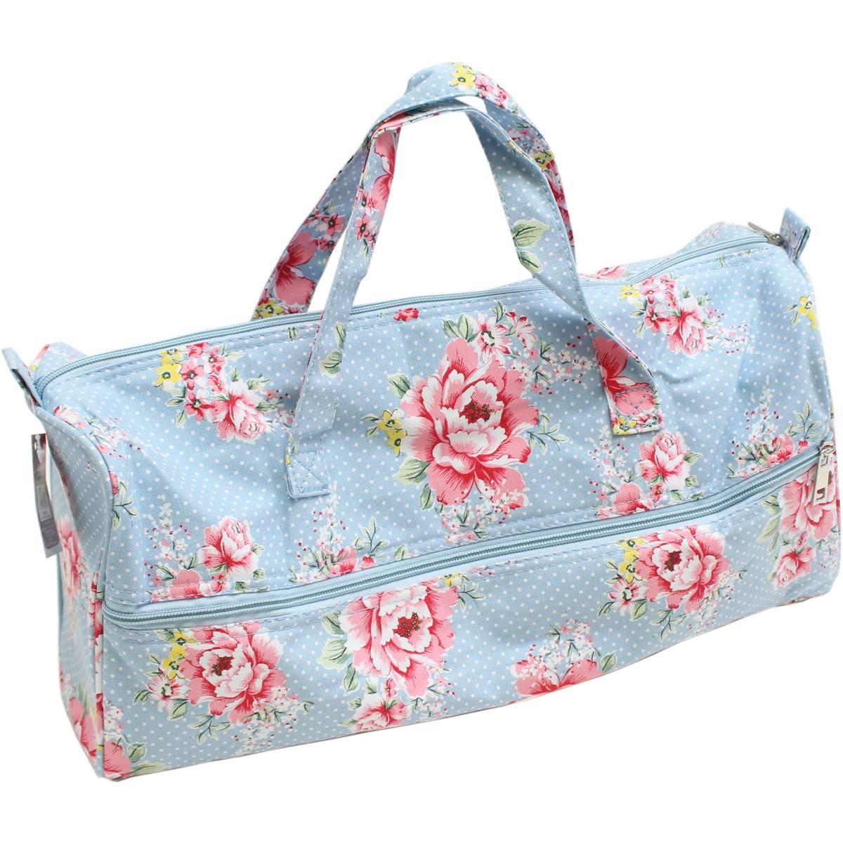 knitting bags beautiful bloom knitting bag | hobbycraft elgyybr