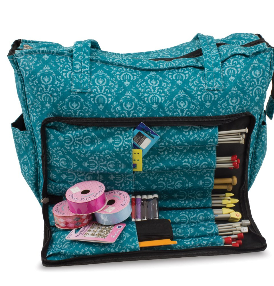 knitting bags knitting and craft shoulder bag imperial teal dfgreuu