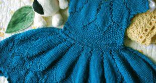 Knitting Designs madalena dress pattern (pdf) - knitting pattern by phibersmith designs uhamsio
