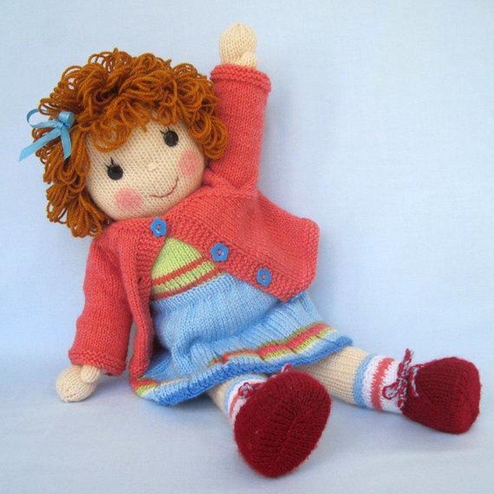 knitting doll belinda jane - knitted doll knitting pattern by dollytime | knitting  patterns xaqeihw