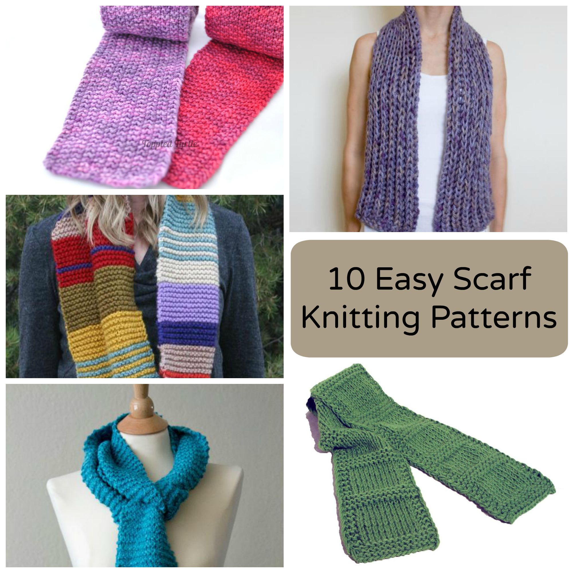 Knitting For Beginners easy scarf knitting patterns smpzrfb