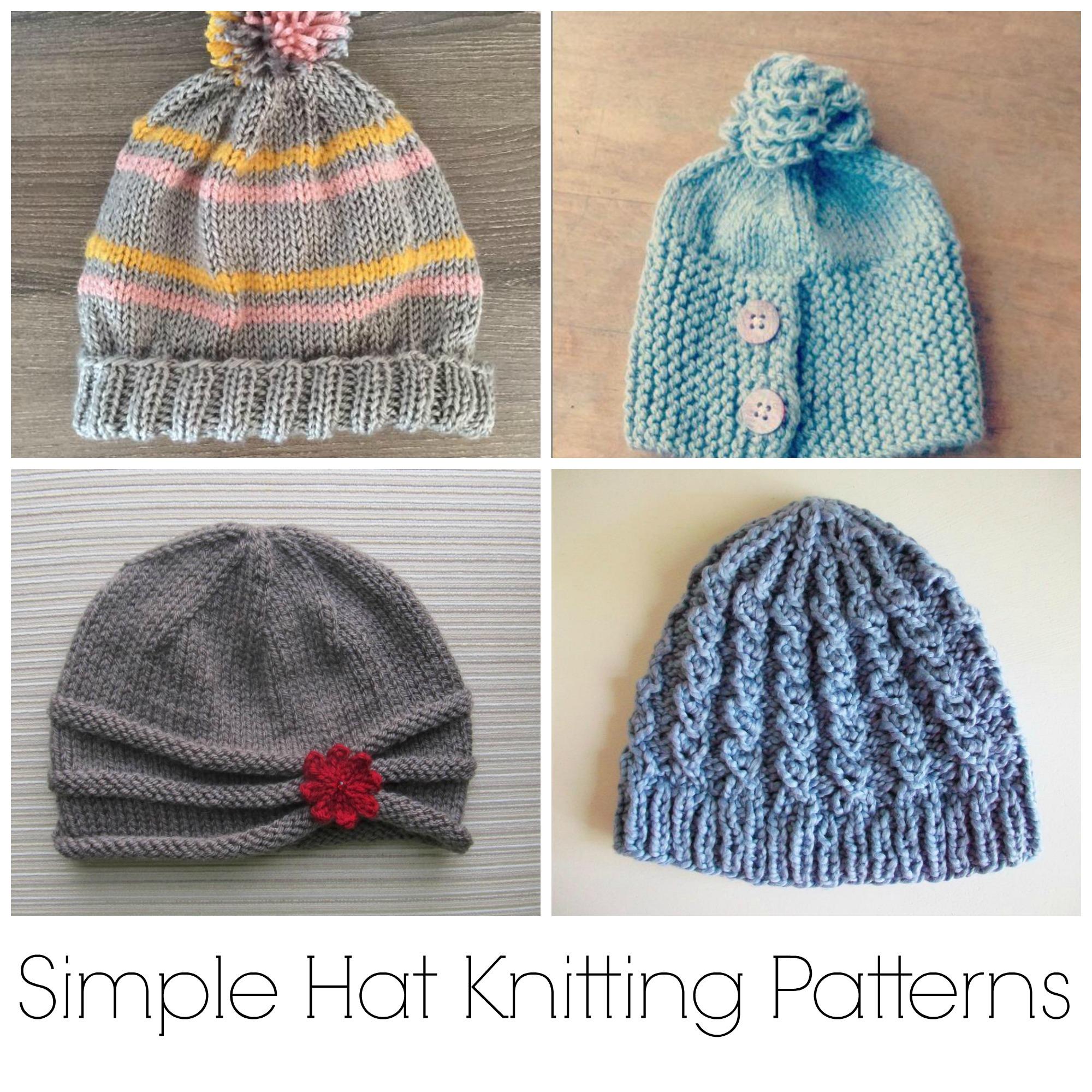 Knitting Ideas no muss, no fuss: 10 simple hat knitting patterns ndtqote