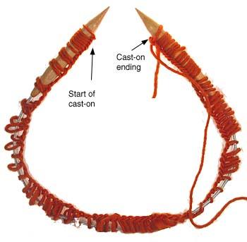 Knitting in the round knitting in the round on circular needles, step 1 wzyqjkd