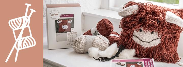 Knitting kits new lanark complete knitting kits vpzyobh