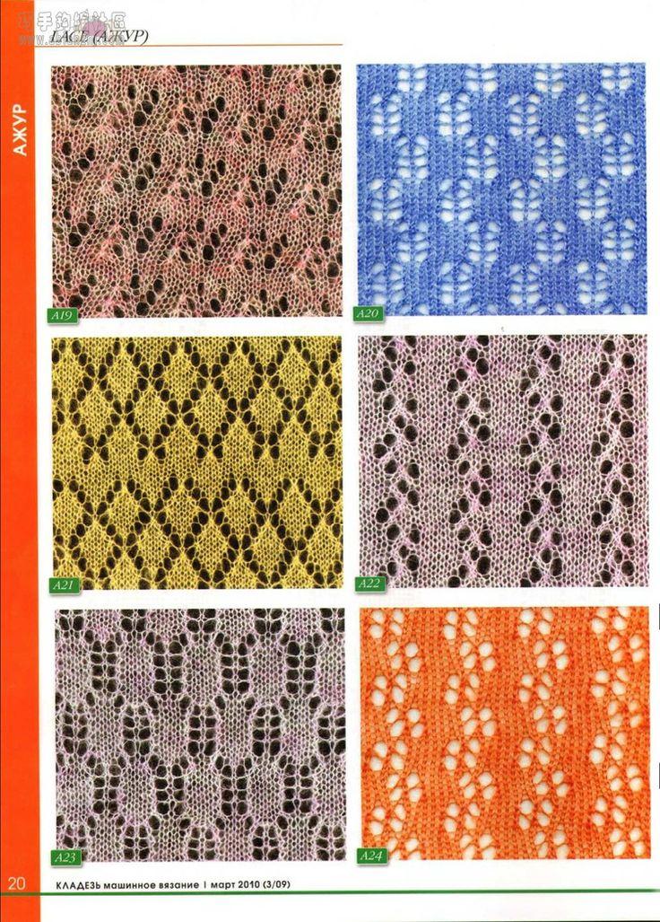 Knitting Machine Pattern Images - knitting patterns free download