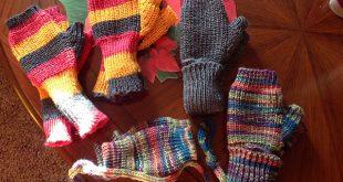 knitting machine patterns ravelry: fingerless mitts pattern by diana sullivan meietpj
