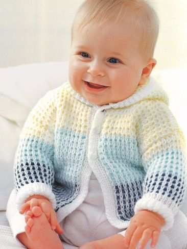 knitting patterns for babies hooded cardigan uzedwti