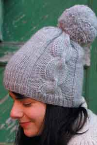 knitting patterns for hats ariosa pom-pom hat qebzwxg