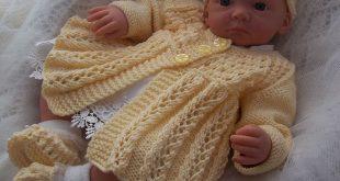 Knitting Patterns Uk size: 0/3 months or 20/22in lifesize reborn doll zylkdzs