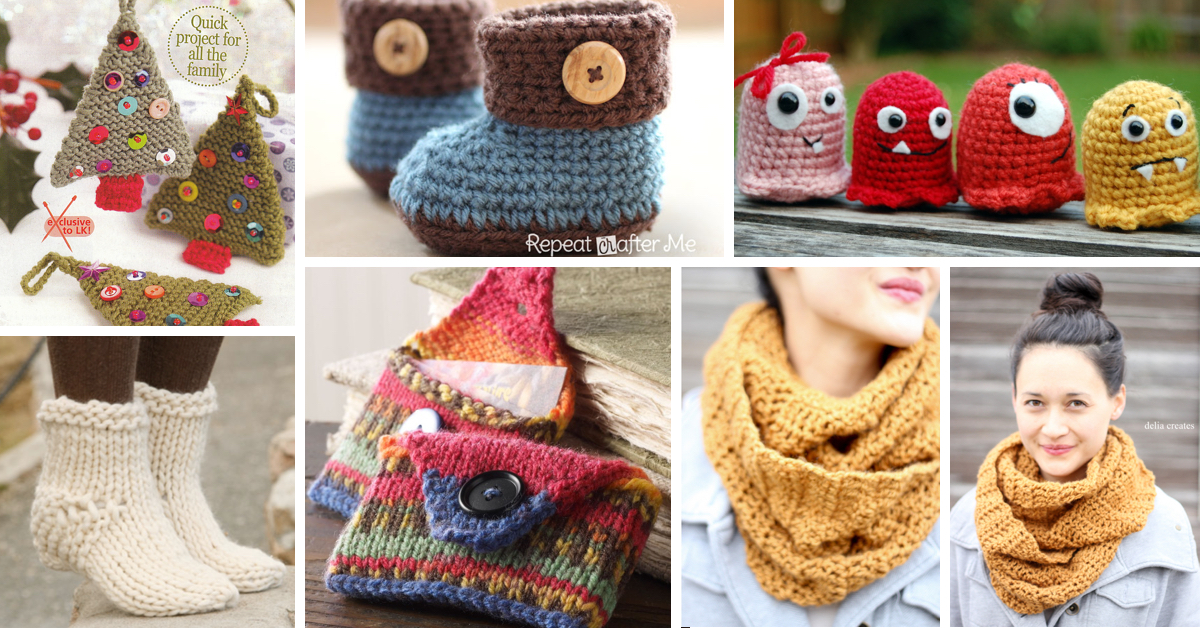 knitting projects how to knit - 45 free and easy knitting patterns - cute diy iswtbwq
