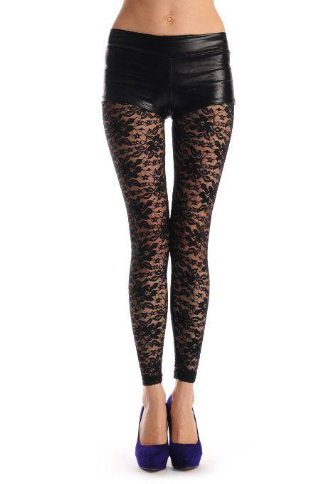 lace leggings for women autnflb