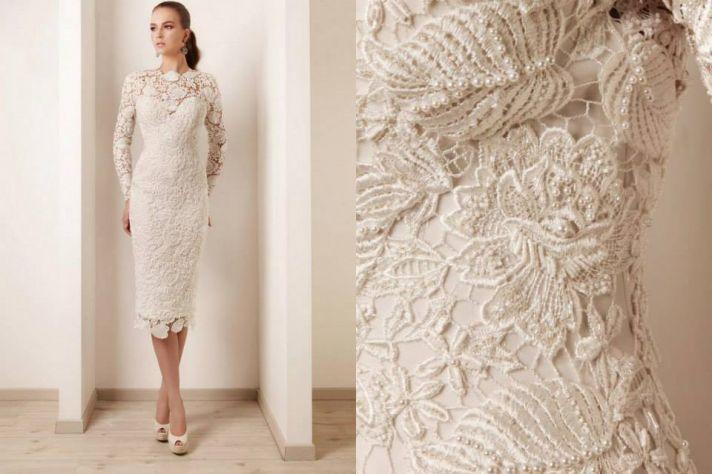 lace up back crochet wedding dress qoxvlga