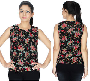 Ladies tops image is loading western-tops-for-women-georgette-western-dress-ladies- mqxqpam