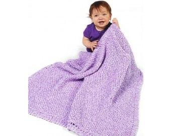 Lion Brand Yarn Patterns knit diagonal pattern baby blanket (knit) rdsaatr