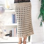 Newest Trendy Crochet skirt pattern