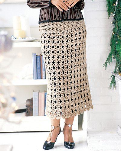 Newest Trendy Crochet skirt pattern