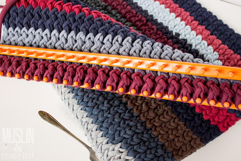 loom knitting knitting loom t-shirt rug ipoghdo