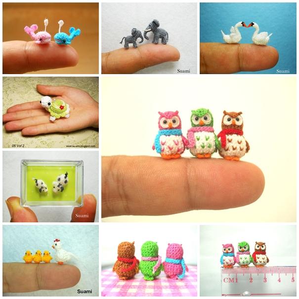 marvelous mini crochet animals to make yourself cbmrwho