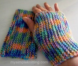 mittens easy knitting patterns hobiuhl