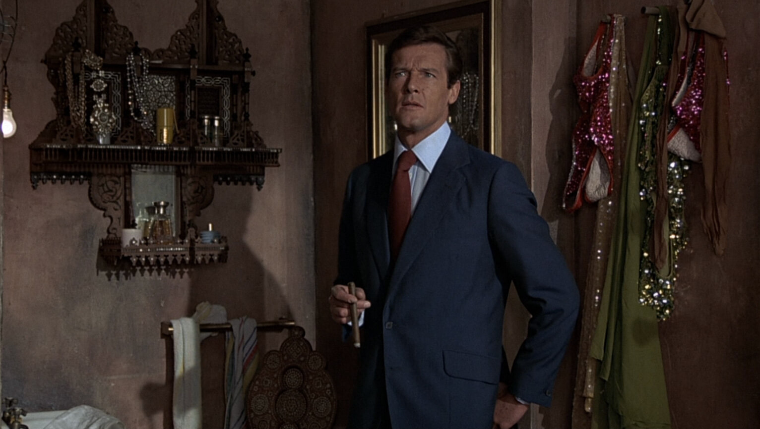 mohair suit roger moore as james bond in marine blue mohair blend suit lahkqxf