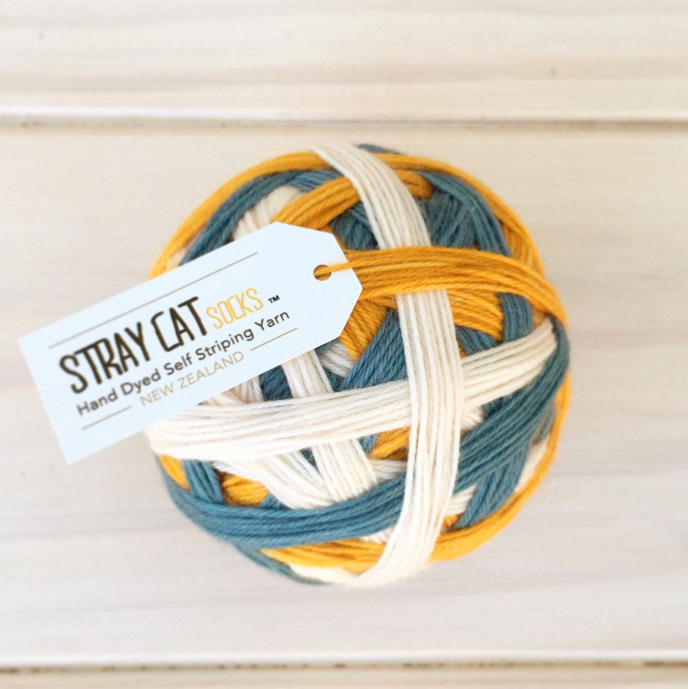 New Sock Yarn rescue cat - vibrant hand dyed self striping sock yarn qypvgiv