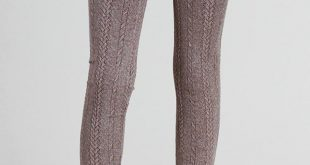 nikibiki cable knit leggings - front cropped image sulefuz