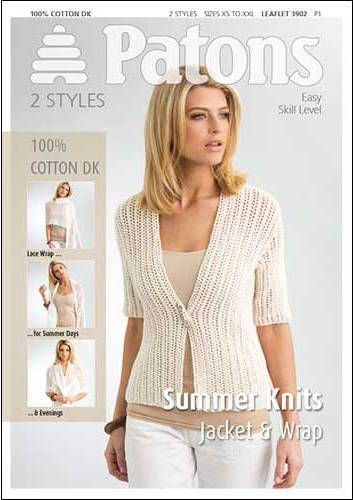 Patons Knitting Patterns 3902 patons summer knits smoothie dk knitting pattern hjdgpym