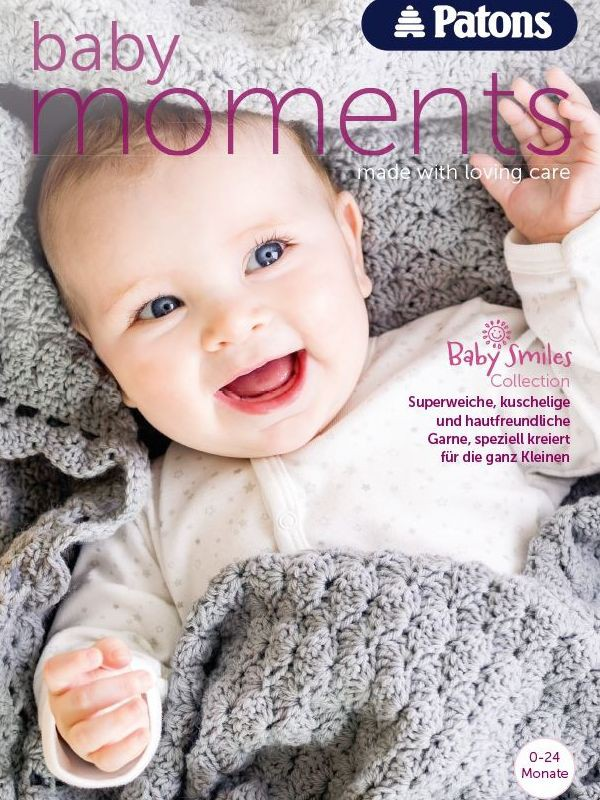 Patons Knitting Patterns patons 003 baby moments colcmkk
