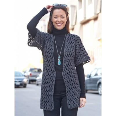 perfect office crochet jacket bdmzrrt