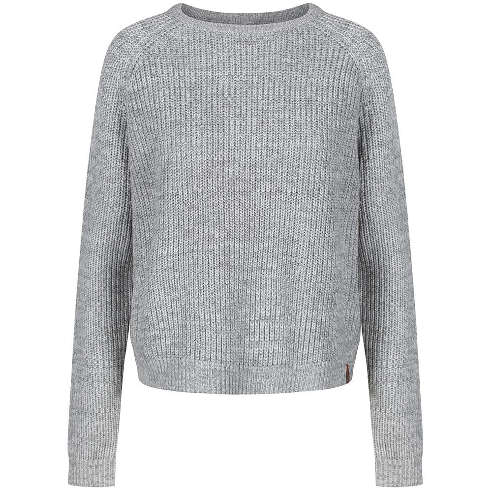 pine grey womenu0027s knitted sweater | lifestyle brand ... uwwneur