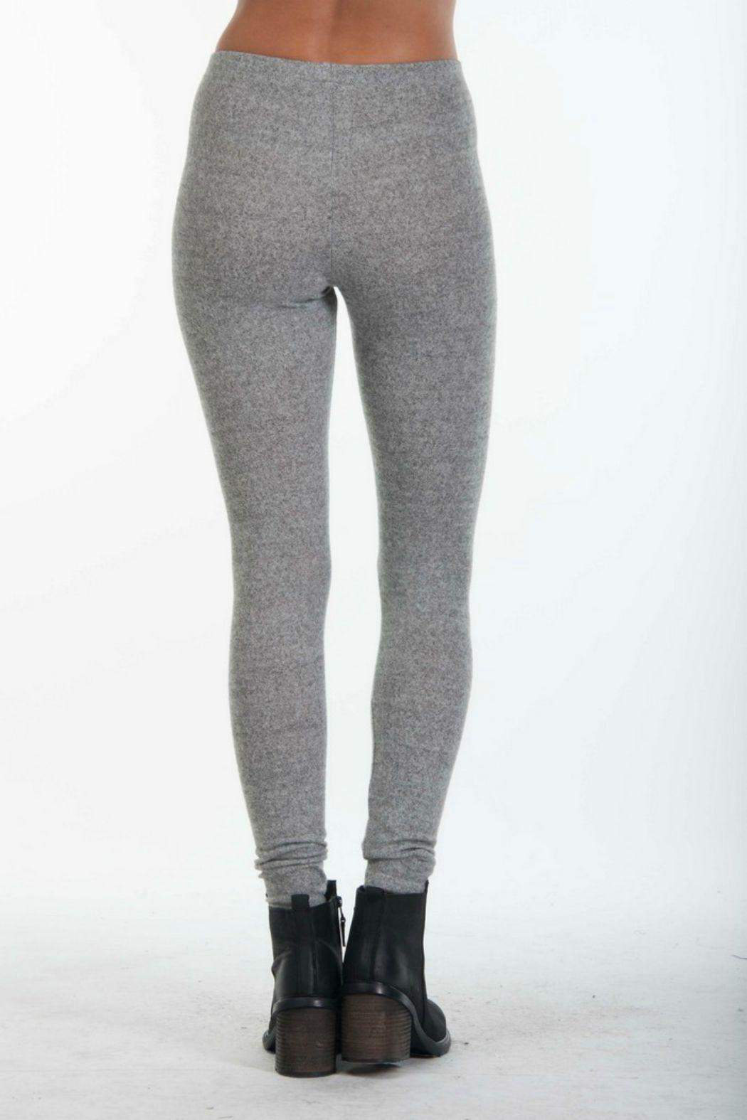 ppla grey knit leggings - side cropped image znxelrw