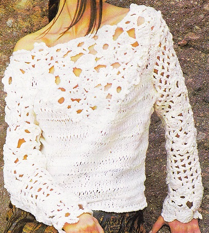 pull tricot crochet dfjebhy