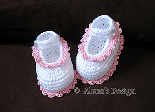 ravelry: crochet baby shoes - gloria pattern by alena byers vzlumiq