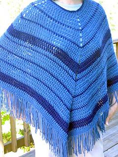 ravelry: easy-crochet poncho pattern by kathy north svlymco