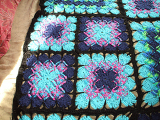 ravelry: stained glass afghan in bavarian crochet pattern by c.b. pelton ihaukdn