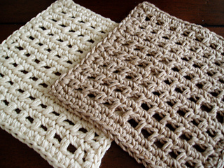 ravelry: waffle crochet dishcloth pattern by kate alvis lgznmgj
