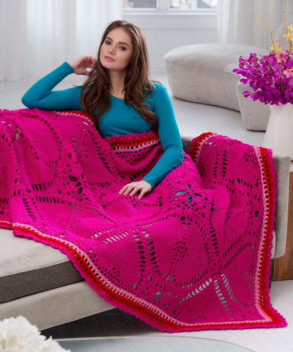 Red Heart Crochet Patterns free love my valentine throw crochet pattern from redheart.com tbqvsgi