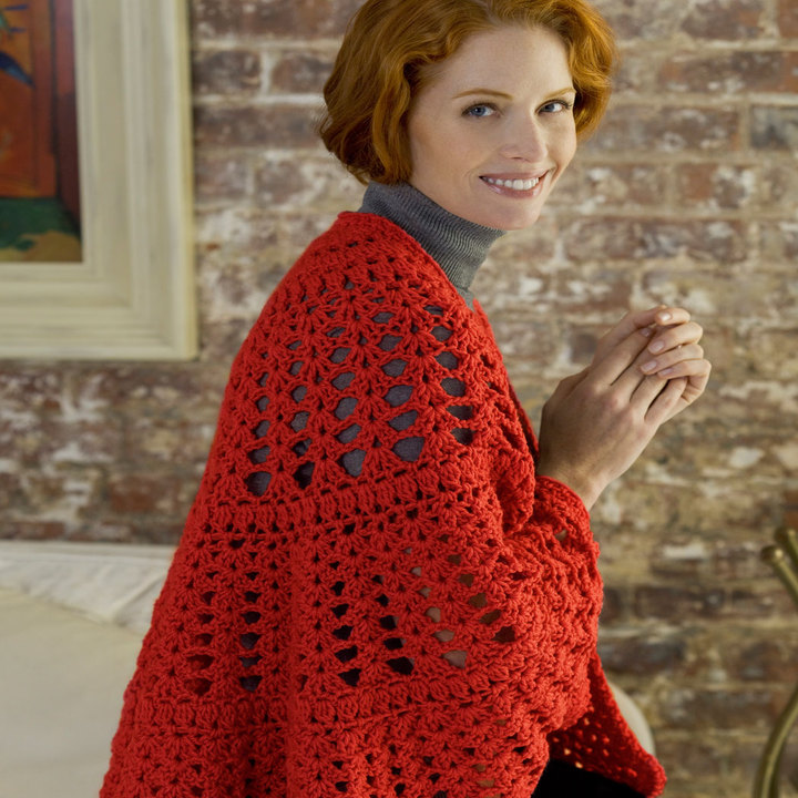 Red Heart Crochet Patterns have a heart shawl free crochet pattern wr1733 xzzqsvu