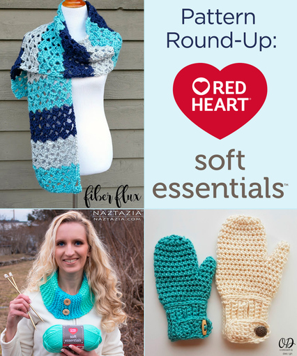 Red Heart Crochet Patterns pattern round-up: red heart soft essentials yarn xpomglc