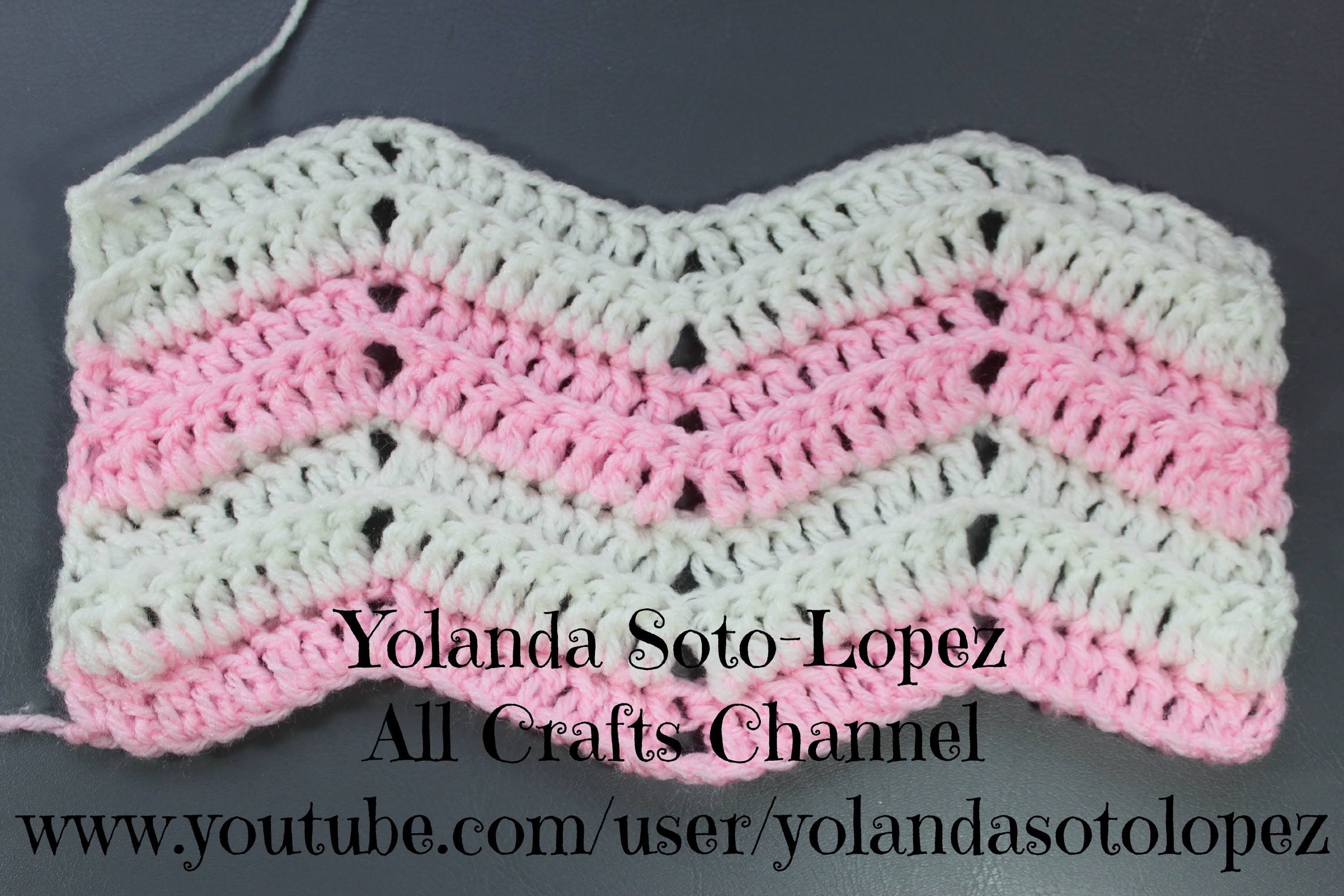 ripple crochet pattern how to crochet ripple stitch - youtube blkkzrq