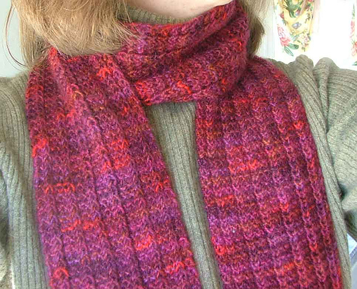 scarf knitting patterns one row hand spun scarf hqjrvhg