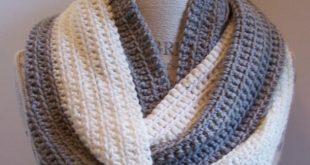 Simple Crochet Patterns beginner crochet infinity scarf pattern