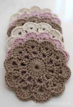 Simple Crochet Patterns free easy crochet patterns for beginners | crochet coaster, beautiful  crochet and unhxaap