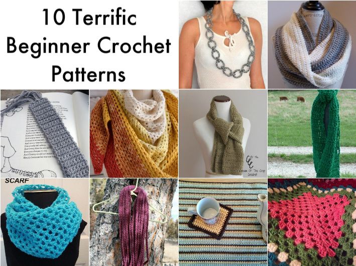 Simple Crochet Patterns these beginner crochet patterns use simple stitches. they donu0027t require  joining, crocheting qgbchac