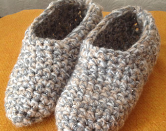 slippers, cotton crochet slippers, knitted slippers, unisex slippers ,  handmade slippers, home wosfbvj