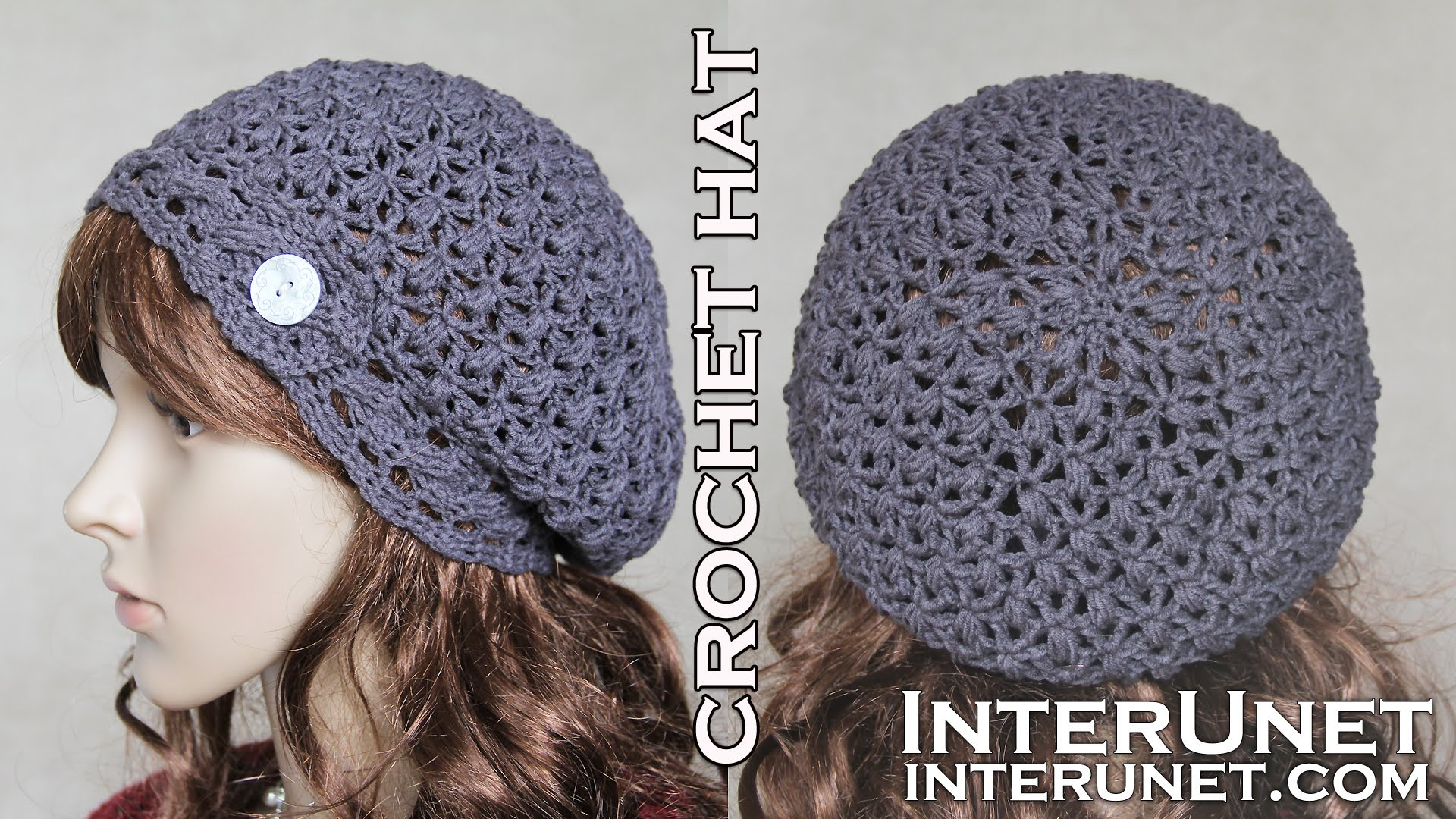 slouchy beanie crochet pattern crochet slouchy hat - pattern for beginners hxjyzgc