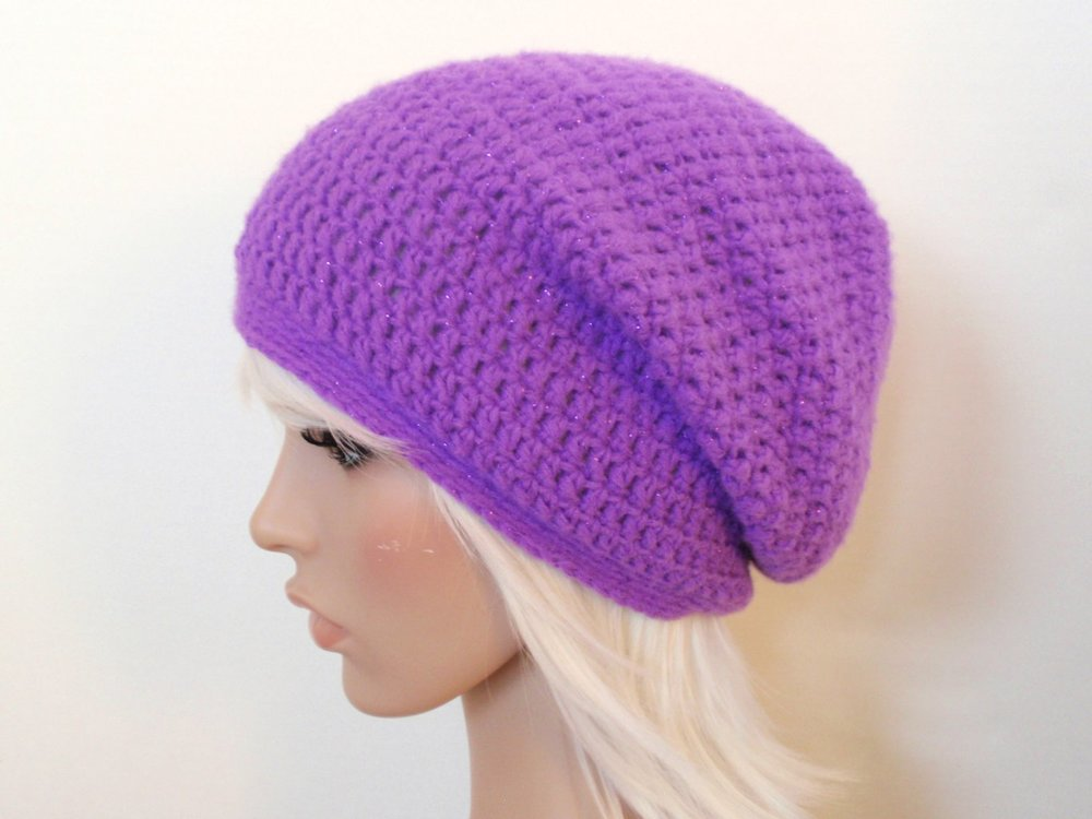 slouchy beanie crochet pattern the really easy slouchy beanie pattern is copyright 2012, jenn dimaria.  pattern qpplkgd